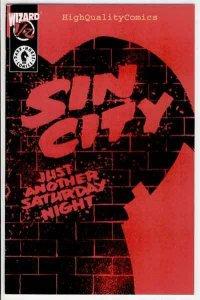 SIN CITY #1/2, Frank Miller, 1997, Movie, Marv, VF