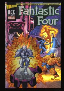 Fantastic Four (1998) #48 Near Mint  1st Silver Surfer Reprint Acetate Cover!