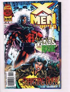 X-Men Unlimited # 11 VF/NM Marvel Comic Book Wolverine Beast Gambit Magneto SW14