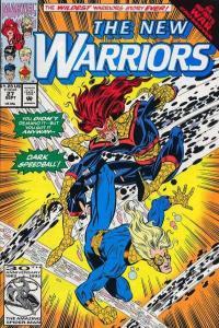 New Warriors (1990 series) #27, NM- (Stock photo)