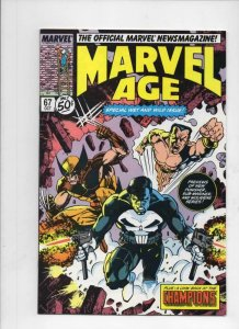 MARVEL AGE #65 66 67, NM-, Punisher Wolverine, 1985 1988 more in store, 3 issues