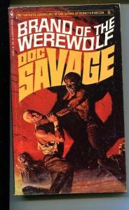 DOC SAVAGE-BRAND OF THE WERWOLF-#4-ROBESON-DOUG ROSA COVER-VG VG