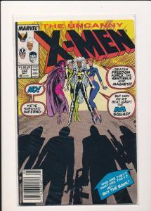 Marvel Comics The Uncanny X-Men #244 1989 1st appearance Jubilee VF (SRU016)