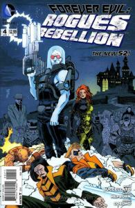 Forever Evil: Rogues Rebellion #4 VF/NM; DC | save on shipping - details inside