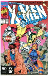 X-MEN 1, NM-, Signed Jim Lee, COA, 1991, unread copy, Wolverine, more in store