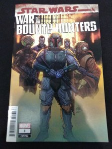 Star Wars War of the Bounty Hunters #1 Marvel Yu Variant 1:25 Boba Fett Cover