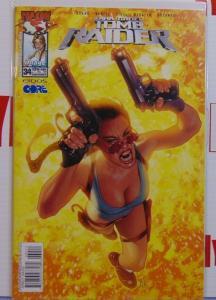 Lara Croft Tomb Raider Issue #34 Adam Hughes Variant Cover 1st Print Image MINT