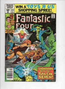 FANTASTIC FOUR #223, VF, Sienkiewicz, Sinnott, 1961 1980, Marvel, UPC