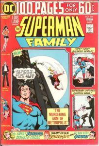SUPERMAN FAMILY 166 FINE Sept. 1974 COMICS BOOK