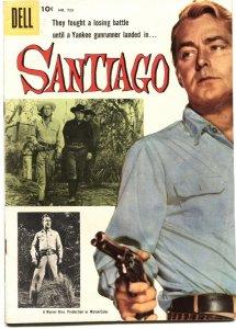 SANTIAGO-DELL FOUR COLOR #723-1956-EVERETT RAYMOND KINSTLER ART