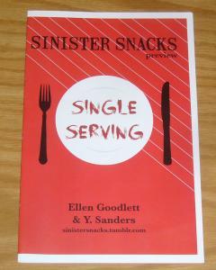Sinister Snacks Preview #1 VF/NM speed-dating gone wrong! ellen goodlett sanders