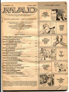 Mad-Magazine #119-1968-low grade reading copy