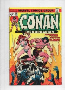 CONAN the BARBARIAN #44 VF, Buscema, Howard, 1970 1974, Red Sonja
