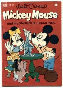Mickey Mouse & Smuggled Diamonds-Four Color Comics #362 VG