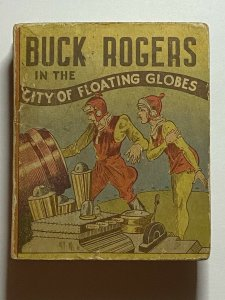 Buck Rogers in the City of Floating Globes Cocomalt Premium 1935 Big Little Book