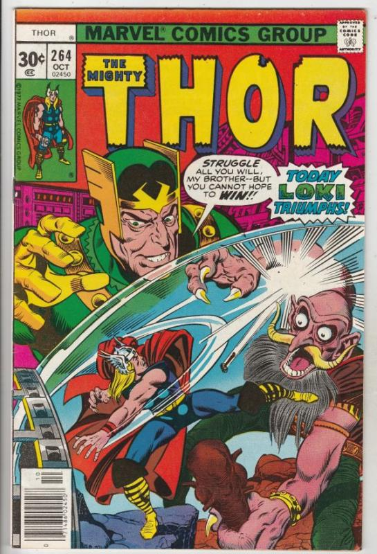 Thor, the Mighty #264 (Oct-77) VF/NM High-Grade Thor