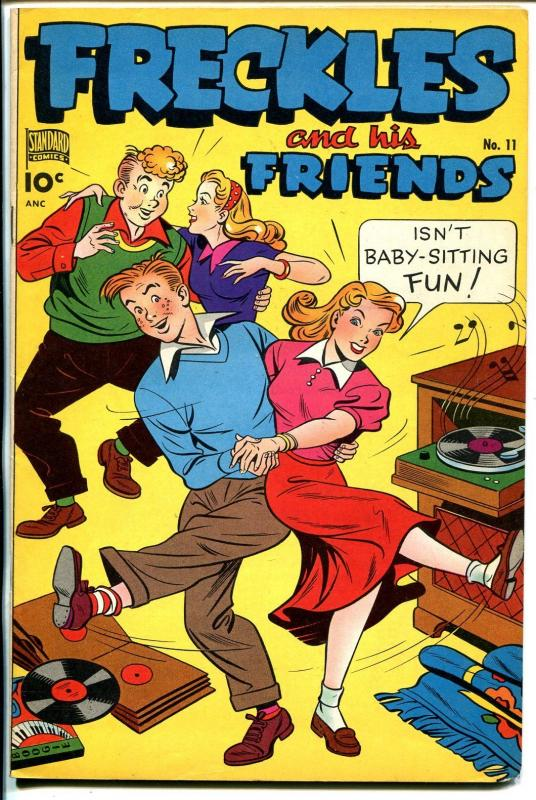 Freckles & His Friends #11 1949-Standard-record albums- record player-VF-