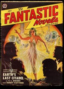 FANTASTIC NOVELS 1950 JUL-VIRGIL FINLAY FN/VF