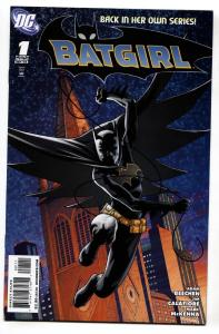 BATGIRL #1 comic book-2008-DC-First issue