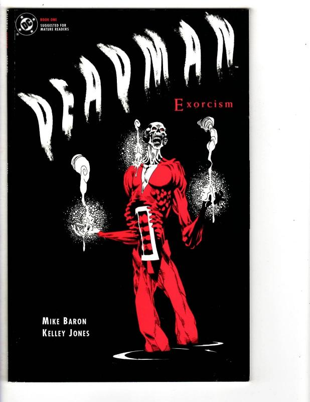 3 Deadman DC Comic Books Book # 1 Exorcism Book # 1 2 Mike Baron Jones WT2