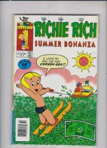 RICHIE RICH SUMMER BONANZ1 #1 1991 HARVEY CLASSICS / UNREAD  / MED +/-