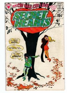 Secret Hearts #147 comic book 1970-DC-booklength story-spicy art