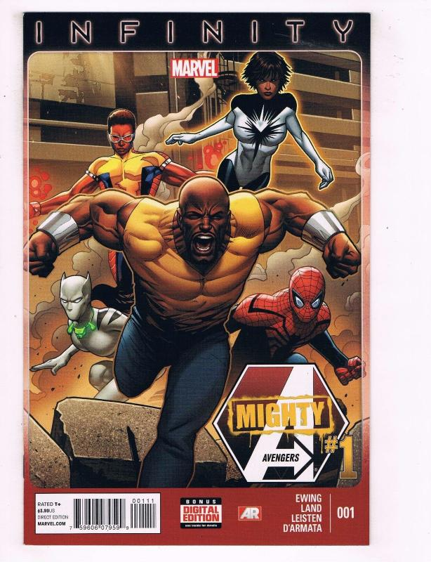 Lot Of 3 Infinity Mighty Avengers Marvel Comic Books # 1 2 3 NM 1st Prints J57