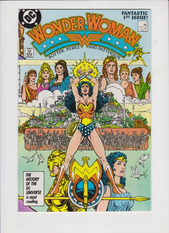 WONDER WOMEN #1 1987---GEORGE PEREZ