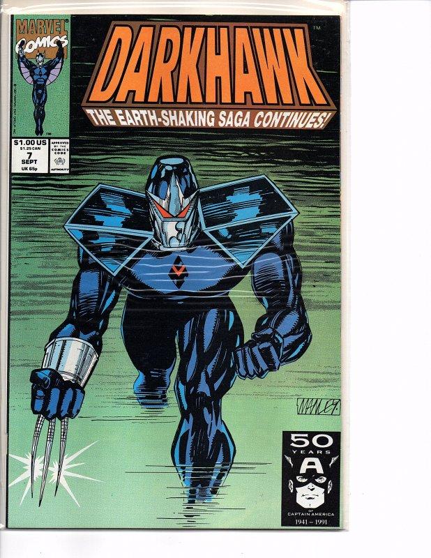 Marvel Comics Darkhawk #7 NM
