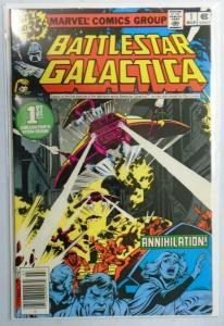 Battlestar Galactica (Marvel) #1, Newsstand Edition, 6.0/FN (1979)