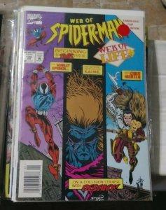 Web of spider-man # 120  1994 marvel   web of life pt 1 kaine scarlet spider kra