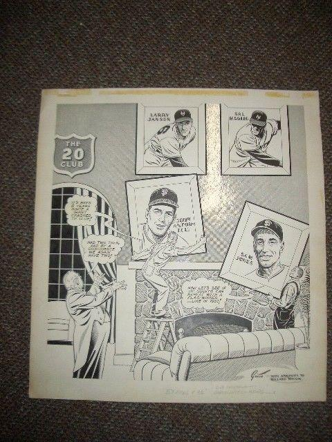 Ray Gotto Original Sporting News Art-SAL MAGLIE-20 Club