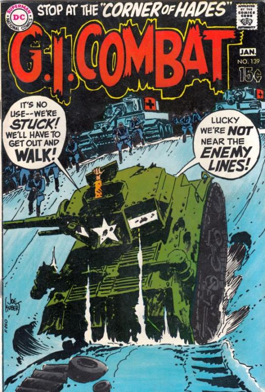 G.I. Combat #139 (Jan-70) VF/NM High-Grade The Haunted Tank
