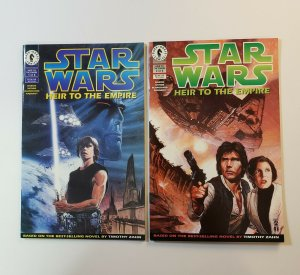 Star Wars Heir To the Empire #1-6 Complete Set 1ST Thrawn 1ST Mara Jade VF/NM