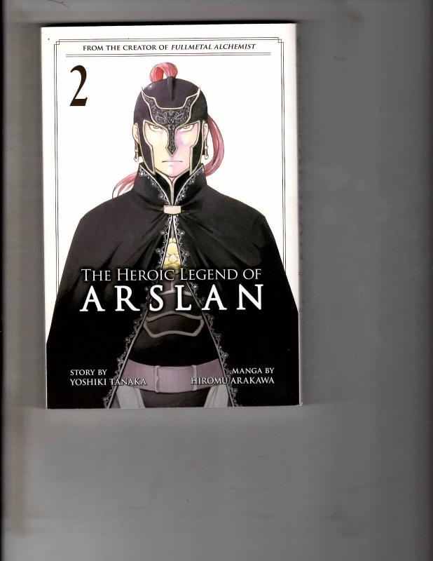 Heroic Legend of Arslan Vol 2 TPB Manga Anime Fullmetal Bleach Naruto  WR1