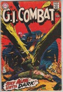 G.I. Combat #125 (Sep-67) FN/VF Mid-High-Grade The Haunted Tank