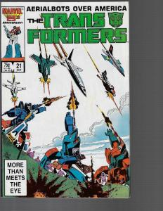 Transformers #21 (Marvel, 1986) VF/NM