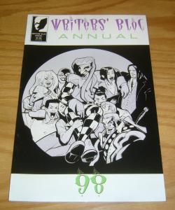 Writers' Bloc Annual '98 VF/NM anthology comic - prestige format - kaare andrews