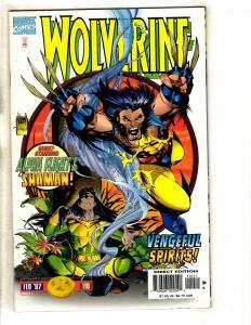 10 Wolverine Marvel Comics # 110 111 112 113 114 -1 115 116 117 118 X-Men CR60