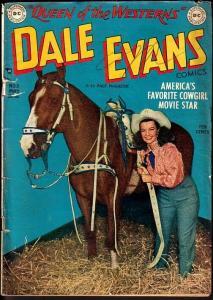 DALE EVANS COMICS #5-ALEX TOTH ART-1949-PHOTO COVER G/VG