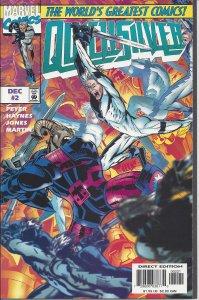 Quicksilver # 2 (Dec 1997) - 1st cover variant (of two) - Marvel Comics