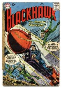 Blackhawk #116 1957 DC comic book G