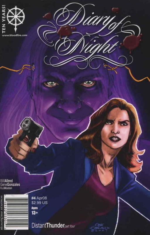 Diary of Night #4 VF/NM; Bloodfire | save on shipping - details inside