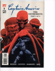 2002 Marvel Comics Captain America #9 John Cassaday