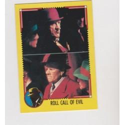 1990 Topps DICK TRACY-ROLL CALL OF EVIL #48