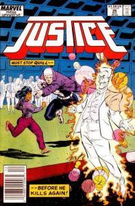 Justice (1986 series) #26, NM (Stock photo)