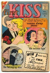 First Kiss #13 1960- Charlton Romance G