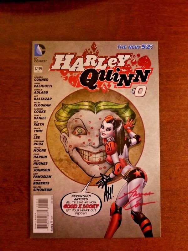 HARLEY QUINN #0 DC NEW 52 NEAR MINT