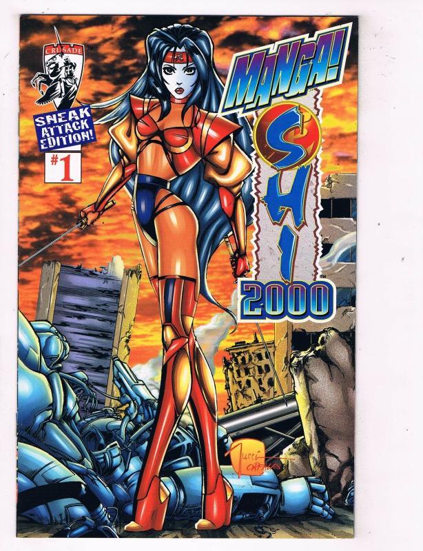 Manga Shi 2000 (1997 Crusade) #1Comic Book Sneak Attack Edition HH3