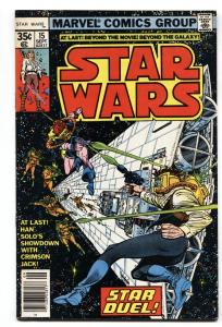STAR WARS #15-1978- HAN SOLO issue  VF/NM comic book